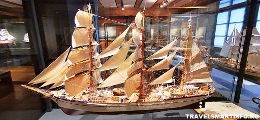Muzeul Maritim Hamburg. Machete navale.
