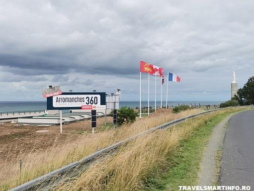 Arromanches - vedere de pe D514