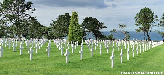Omaha Beach - cimitirul american