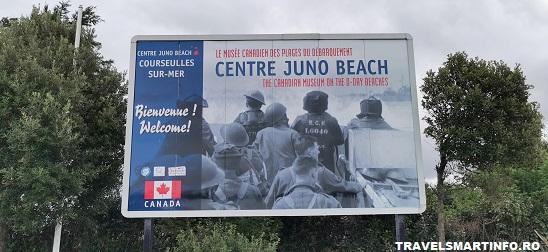 Juno Beach - intrarea in complex