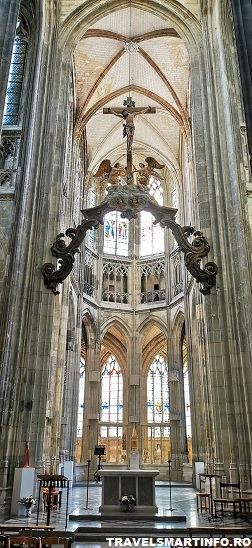 Catedrala Saint Maclou - interiorul