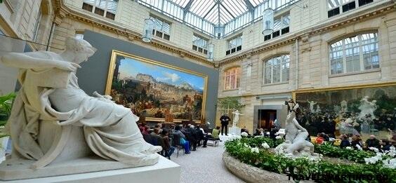 Muzeul de arte frumoase - interior & galerii de arta