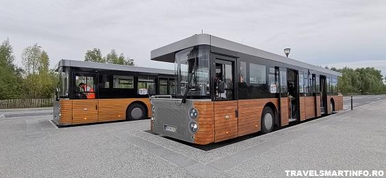 Parcarea si shuttle bus