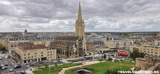 Vedere din Castelul Caen