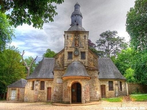 Capela Notre Dame de Grace Honfleur