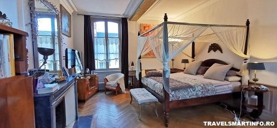 Vila Le Maison du Parc Honfleur - dormitorul