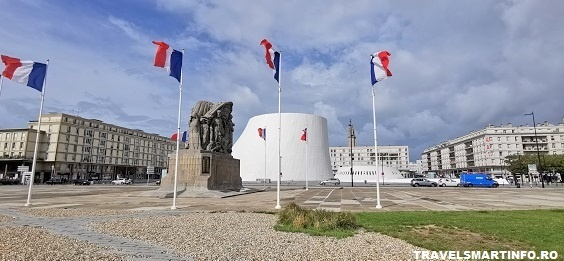 Le Havre - Piata Charles de Gaule