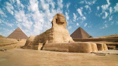 Egipt - Piramida lui Keops si Sfinxul
